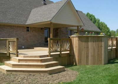 Exterior Patio-Terrace Stairs